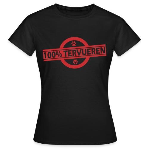 100 terv rouge - T-shirt Femme