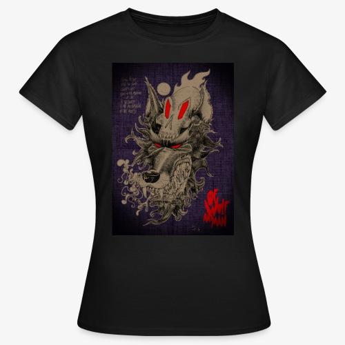 WOLF SKULL - T-shirt Femme