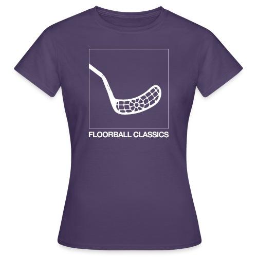 floorballclassics1 neg - T-shirt dam