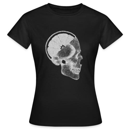 The Skull [WHITE] - Women's T-Shirt