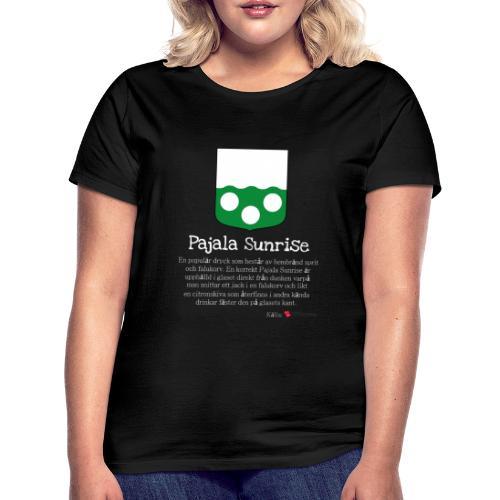 Pajala Sunrise - T-shirt dam