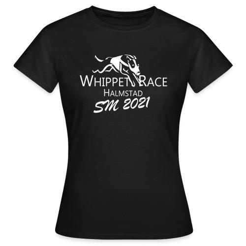 whippetrace sm2021 vit - T-shirt dam