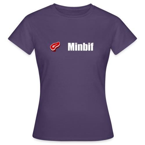 minbif tshirt simple - T-shirt Femme