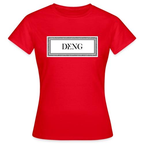 DENG-Druck (Init: Dennis Nguyen) - Frauen T-Shirt