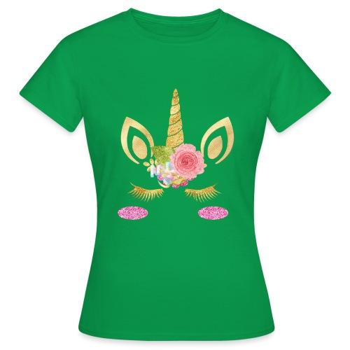 unicorn face - Frauen T-Shirt