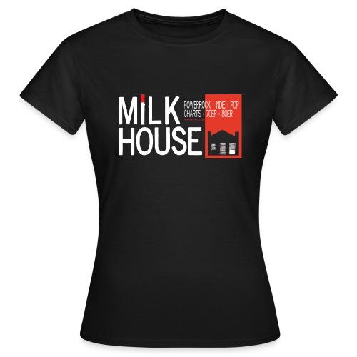 milkhouselogoquer - Frauen T-Shirt
