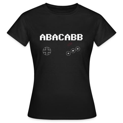 ABACABB Bloodcode - Frauen T-Shirt