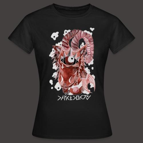 capricorne Négutif - T-shirt Femme