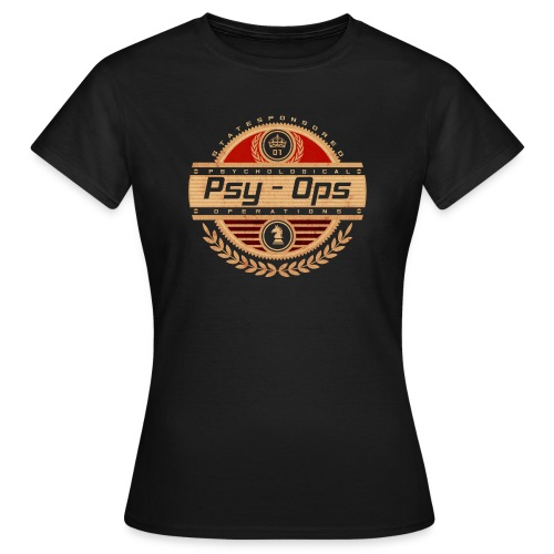 PSY - OPS RED - Women's T-Shirt