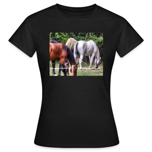 racehorse horses horse horsesofinstagr - Frauen T-Shirt