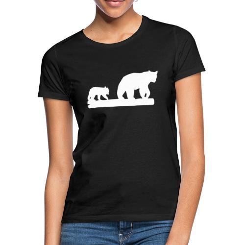 Bär Bären Grizzly Raubtier Wildnis Nordamerika - Frauen T-Shirt