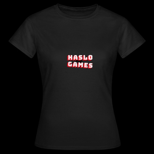 NEW HASLOGAMES LOGO - Vrouwen T-shirt