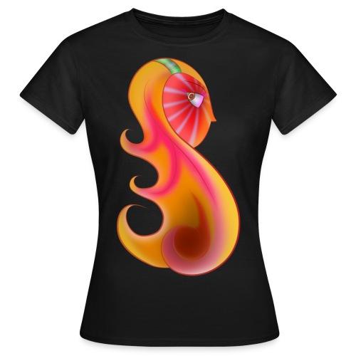 Face color - T-shirt Femme