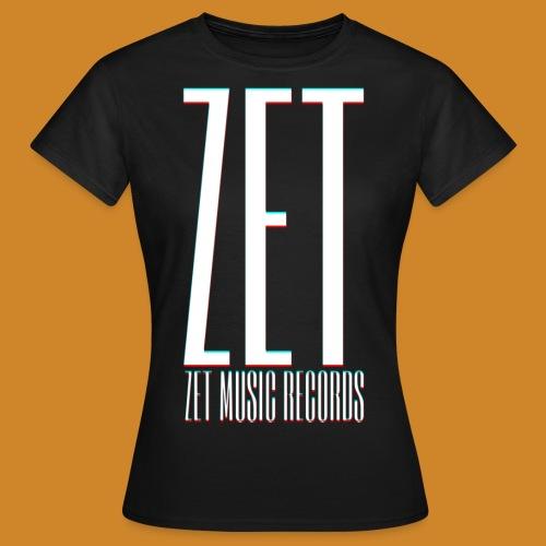 ZET RECORDS FULL PRINT - Frauen T-Shirt