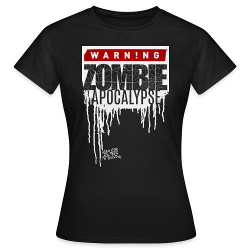 ZOMBIE APOKALYPSE - Frauen T-Shirt