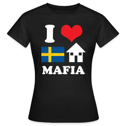 i love swedish house mafia black bg - Women's T-Shirt