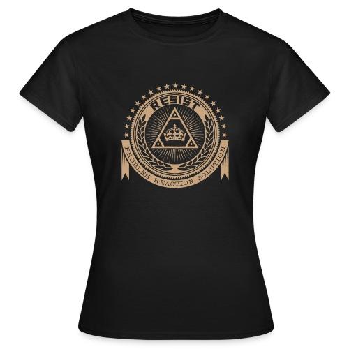 RESIST LOGO GOLD - Women's T-Shirt