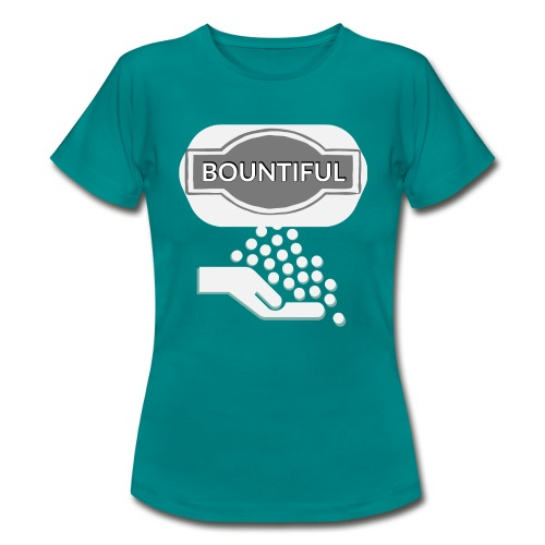 Bontiul gray white - Women's T-Shirt