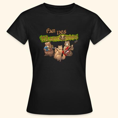 Tshirt fans - T-shirt Femme