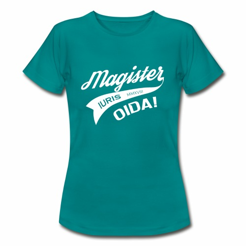 Magister Iuris Oida 2018 Jus-Absolventen T-shirt - Frauen T-Shirt