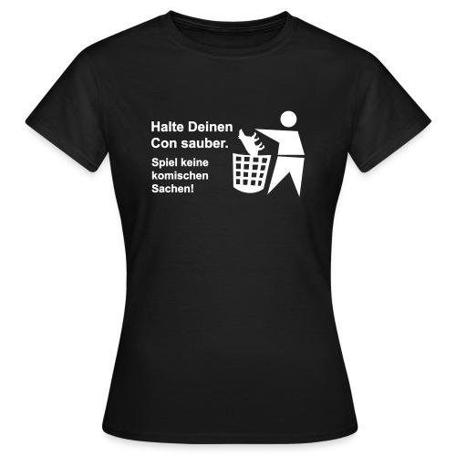 tapir muell shirt b - Frauen T-Shirt