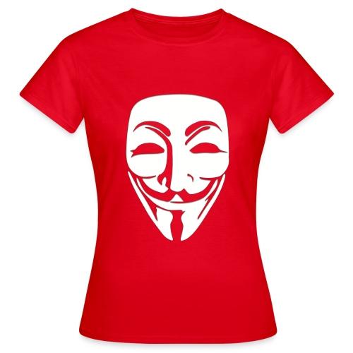Anonymous Just Face - Naisten t-paita