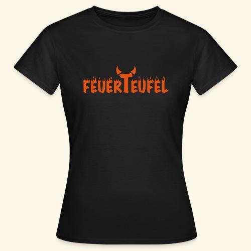 Feuerteufel - Frauen T-Shirt