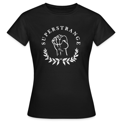 SUPERSTRANGE0001 weiß png - Frauen T-Shirt