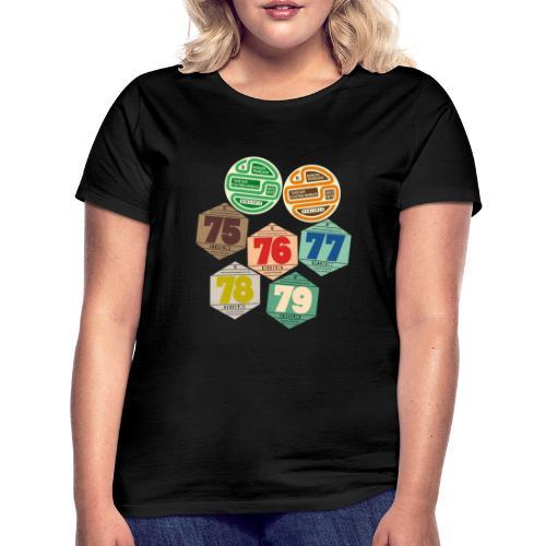 Vignettes automobiles années 70 - T-shirt Femme