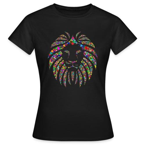 Ausdruck des Löwen - Frauen T-Shirt