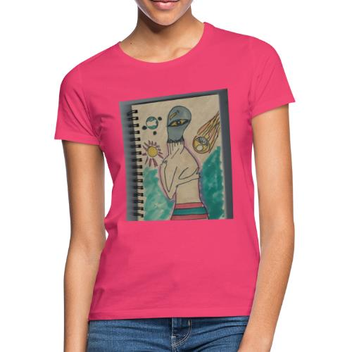 Alien conspirando - Camiseta mujer