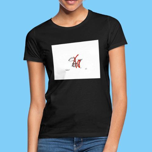 """SMILE"" by OLOF HAG - T-shirt dam"