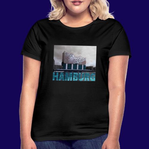 Elbphilharmonie | HAMBURG-Typo| Künstlermotiv - Frauen T-Shirt