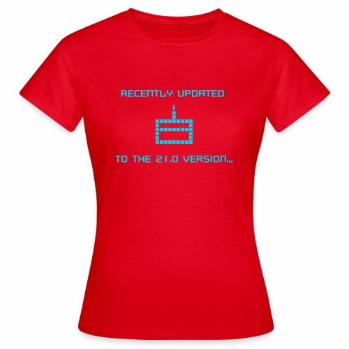 Recently updated to version 21.0 - Women's T-Shirt