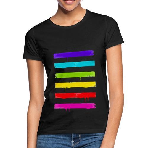 LGBT STRIPES - Frauen T-Shirt