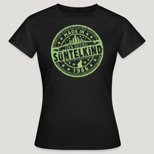 SÜNTELKIND 1966 - Das Süntel Shirt mit Süntelturm - Frauen T-Shirt