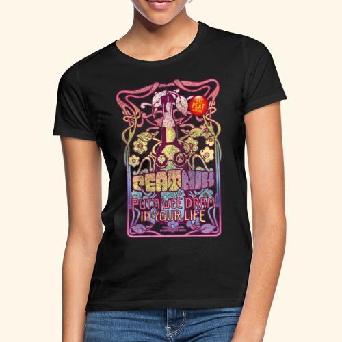 Whisky T Shirt Peatnik für Whiskykenner - Frauen T-Shirt