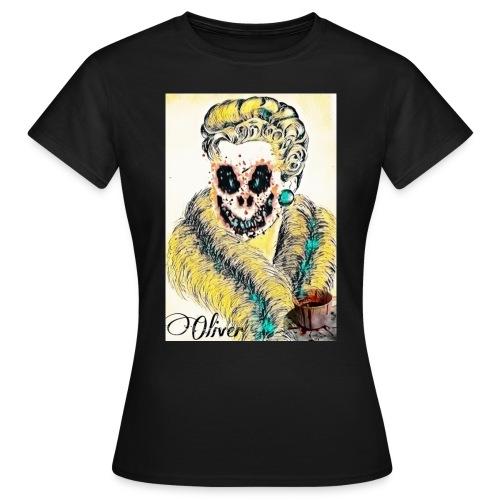 Portrait Femme affrayante - T-shirt Femme