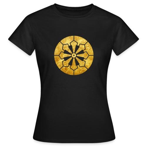 Sanja Matsuri Komagata mon gold - Women's T-Shirt