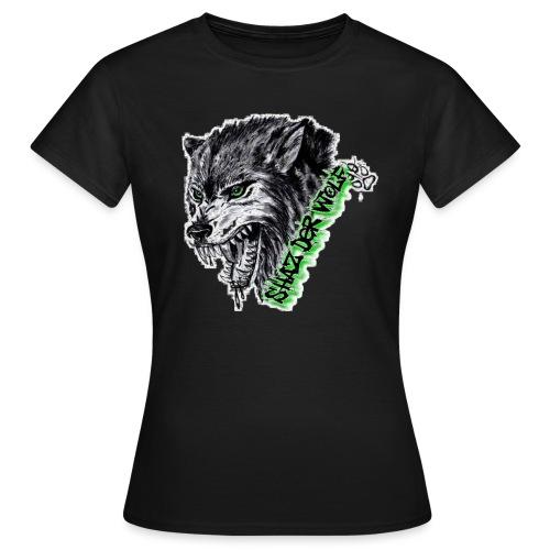 Shaz Der Wolf - Frauen T-Shirt