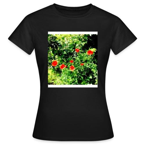 Papaveri - Maglietta da donna
