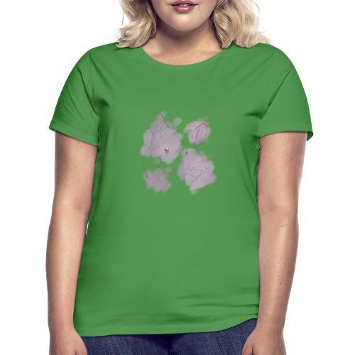Violet splash chinchilla 2 - Naisten t-paita