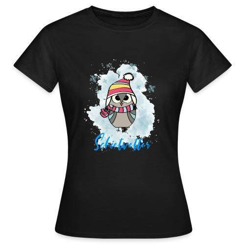 Schietwetter Design - Frauen T-Shirt