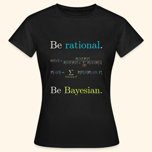 Bayésianisme Equations - T-shirt Femme