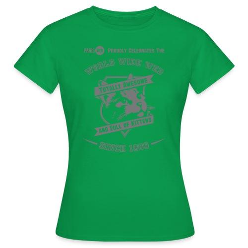 awesome & full of kittens - T-shirt Femme