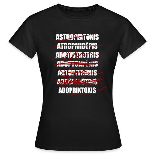 Adoptruc - T-shirt Femme