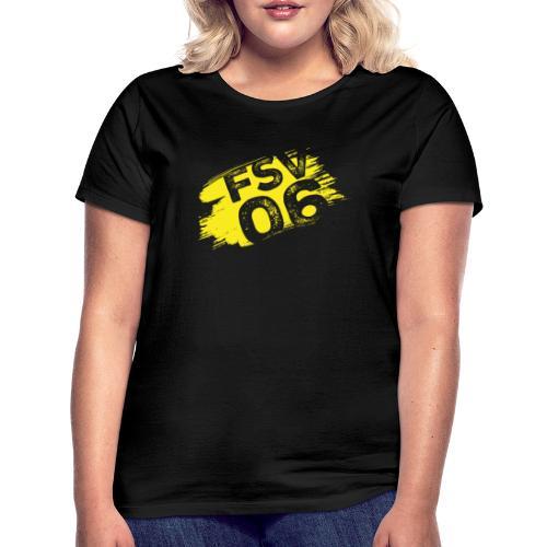 Hildburghausen FSV 06 Graffiti gelb - Frauen T-Shirt