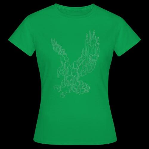 Circuit eagle White - Dame-T-shirt