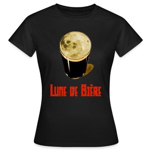 Logo Lune de Bière - T-shirt Femme