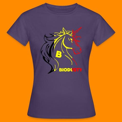 belgian biodusty unicorn hoodie unisex - Vrouwen T-shirt
